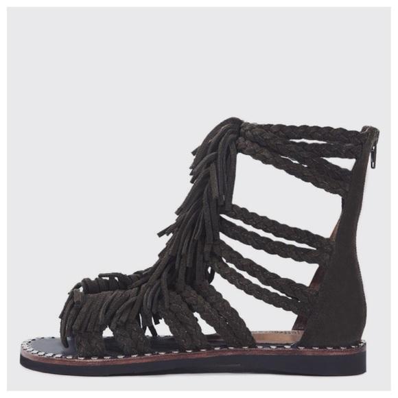 eb01131110ea Jeffrey Campbell Shoes - SALE✨Jeffrey Campbell Santana Suede Fringe Sandals